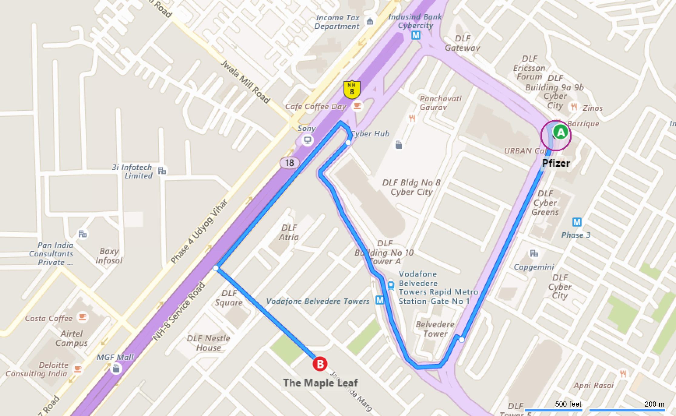 Budget Hotel Near Pfizer Office Gurgaon | Budget Hotels in